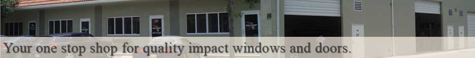 condo impact windows and doors