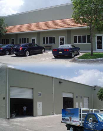 Gold Coast Windows and Doors office, warehouse and showroom